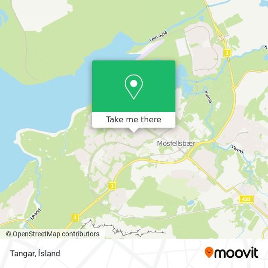 Tangar map