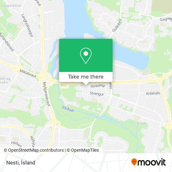 Nesti map