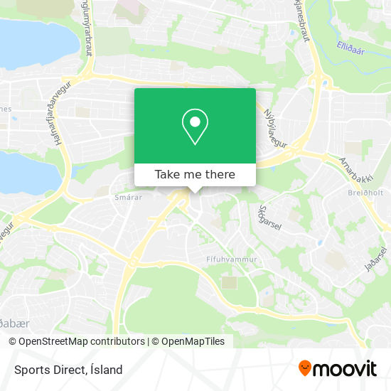 Sports Direct map