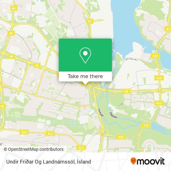 Undir Friðar Og Landnámssól map
