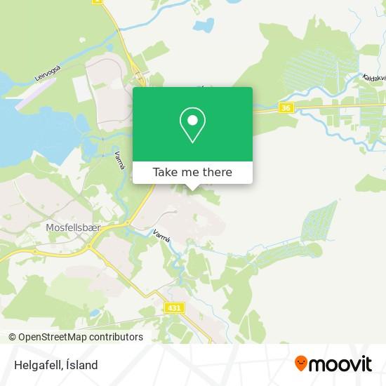 Helgafell map