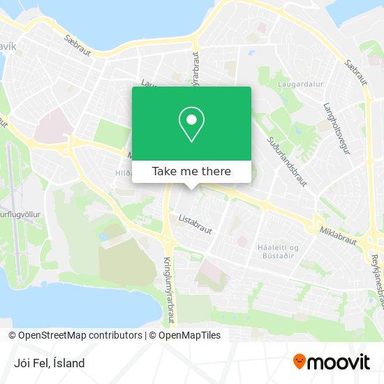 Jói Fel map