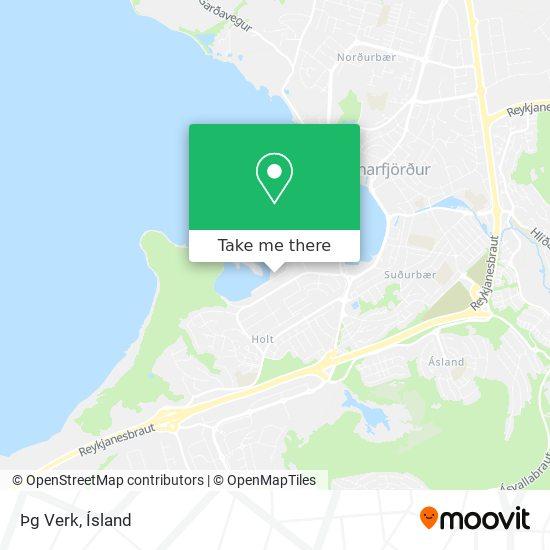 Þg Verk map