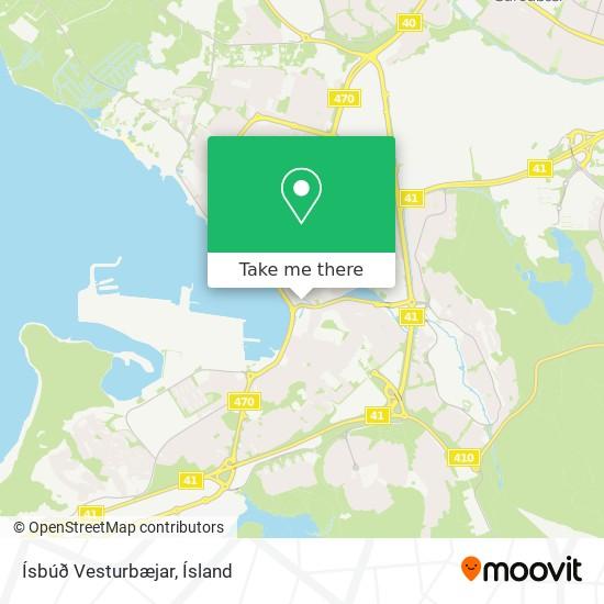 Ísbúð Vesturbæjar map