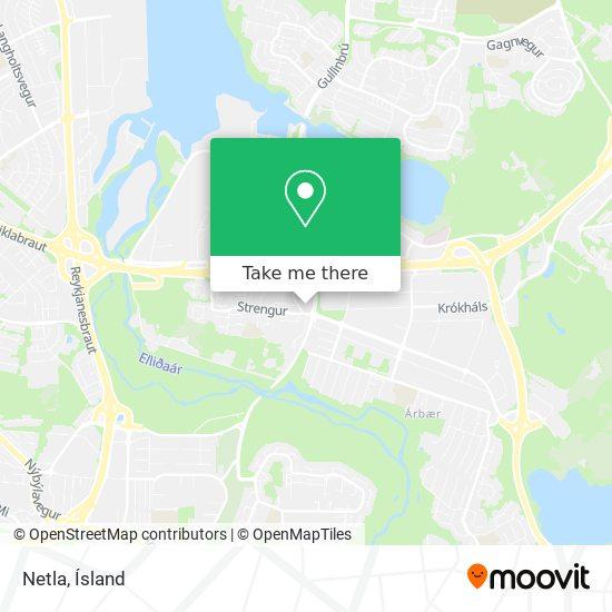 Netla map