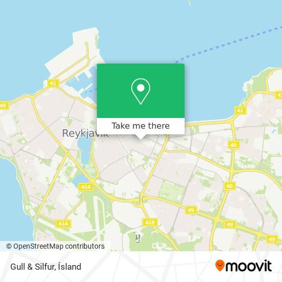 Gull & Silfur map