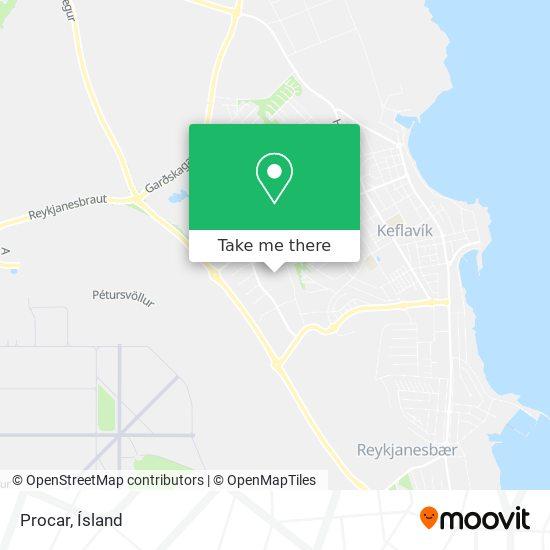 Procar map