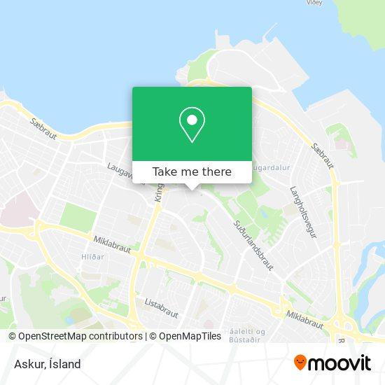 Askur map
