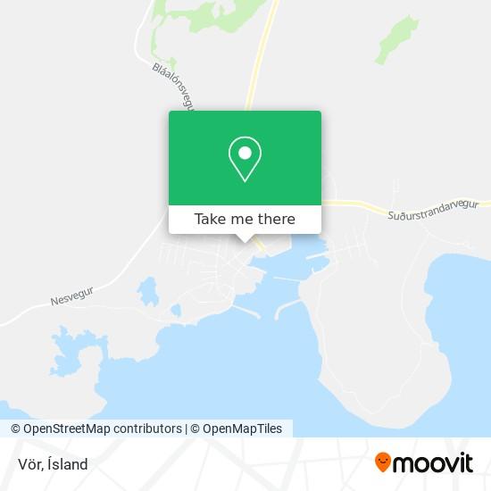 Vör map