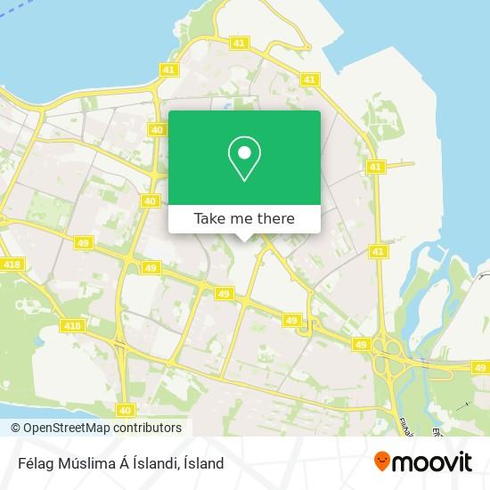 Félag Múslima Á Íslandi map