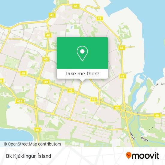 Bk Kjúklingur map