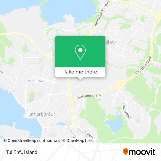 Tul Ehf. map