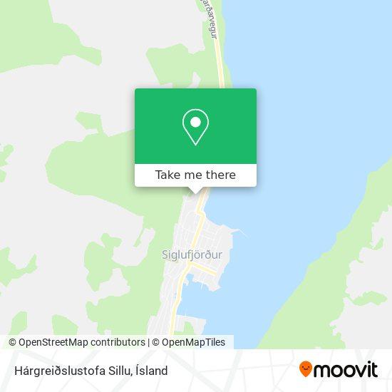 Hárgreiðslustofa Sillu map