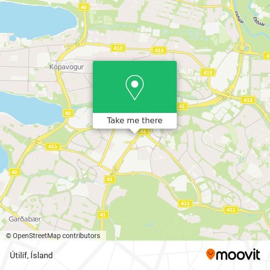 Útilíf map