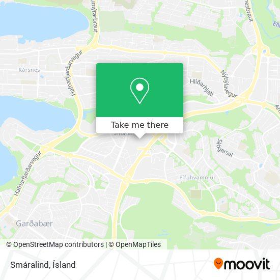 Smáralind map