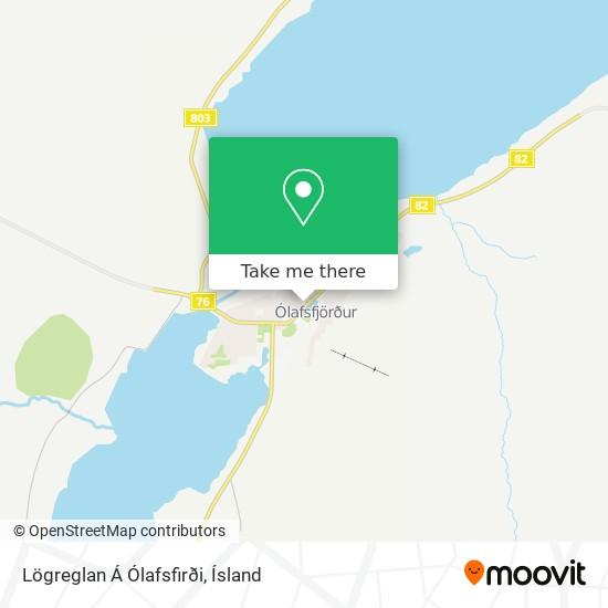 Lögreglan Á Ólafsfirði map