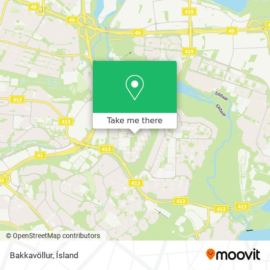 Bakkavöllur map