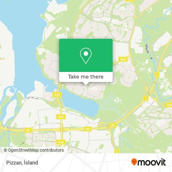 Pizzan map