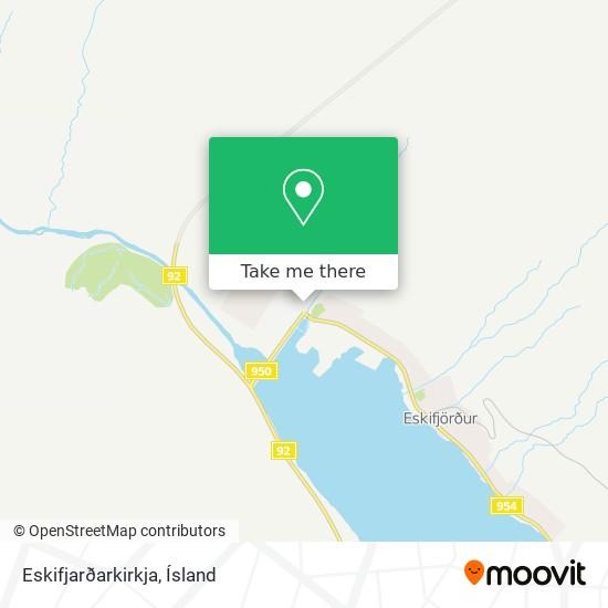 Eskifjarðarkirkja map