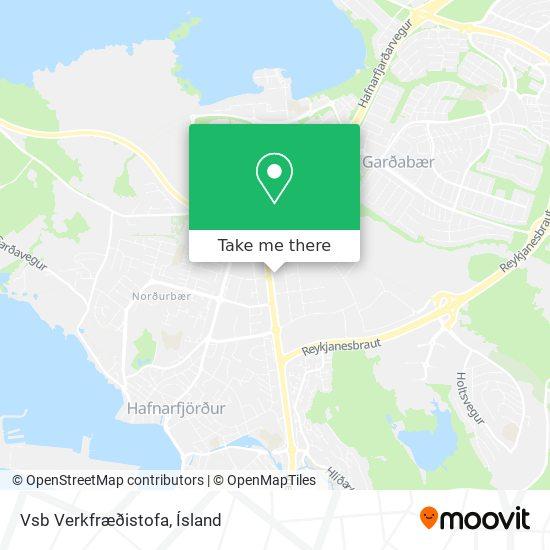 Vsb Verkfræðistofa map
