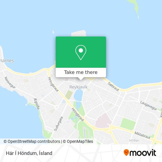 Hár Í Höndum map