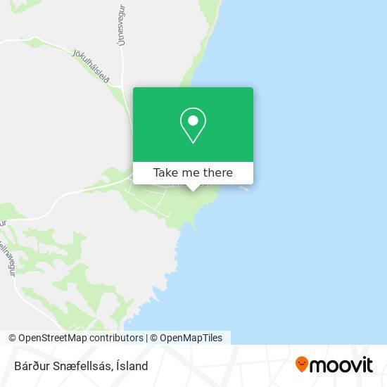 Bardur Snaefellsas map