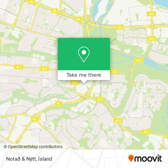 Notað & Nýtt map