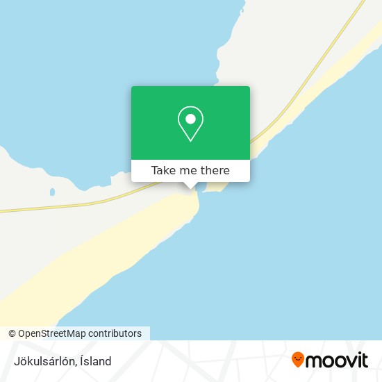 Jökulsárlón map