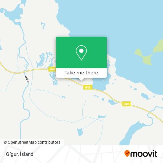 Gígur map