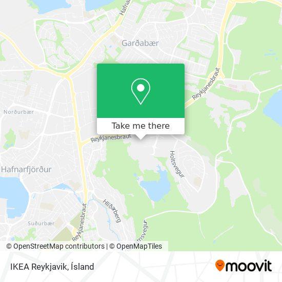 IKEA Reykjavik map