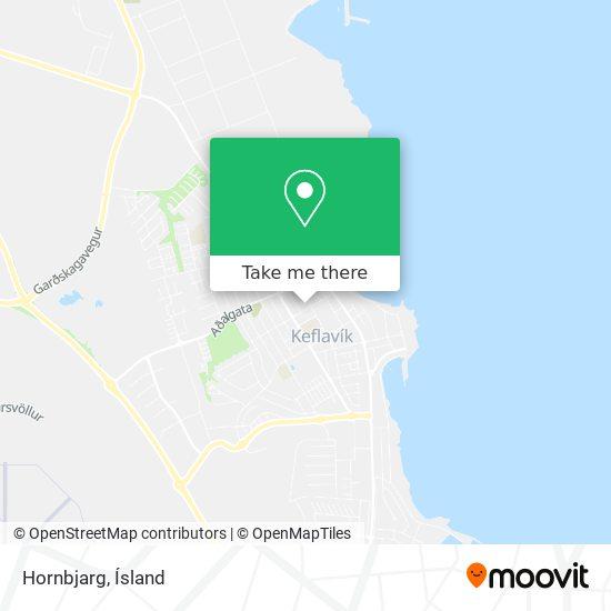Hornbjarg map
