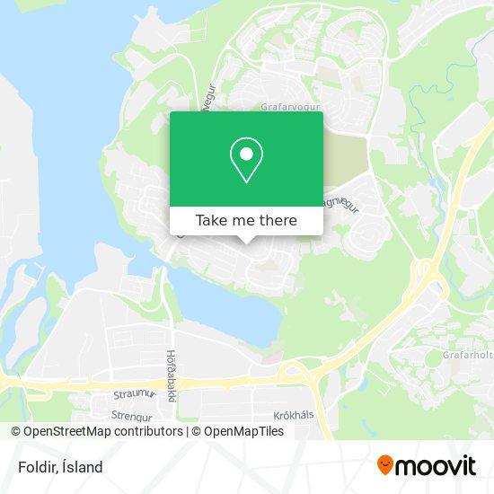 Foldir map