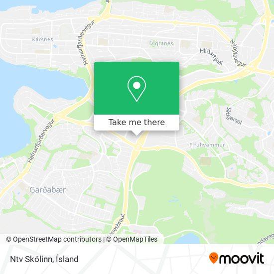 Ntv Skólinn map