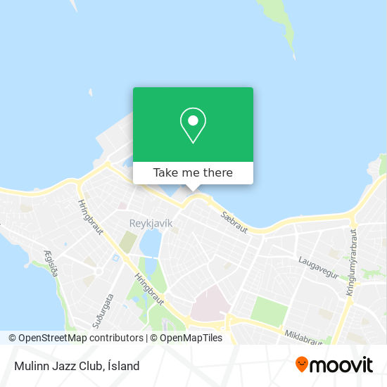 Mulinn Jazz Club map