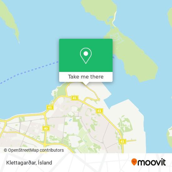 Klettagarðar map