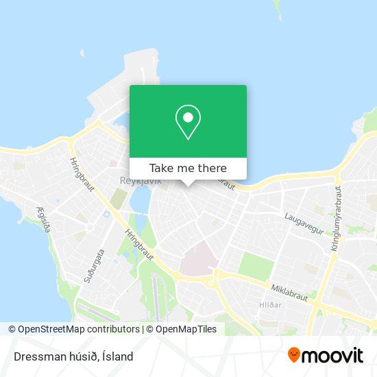 Dressman húsið map