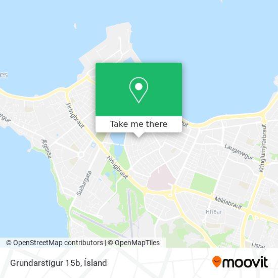 Grundarstígur 15b map