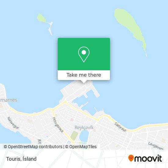 Touris map
