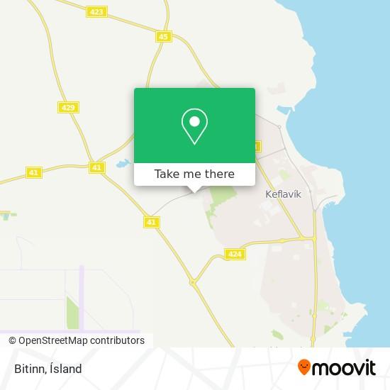 Bitinn map