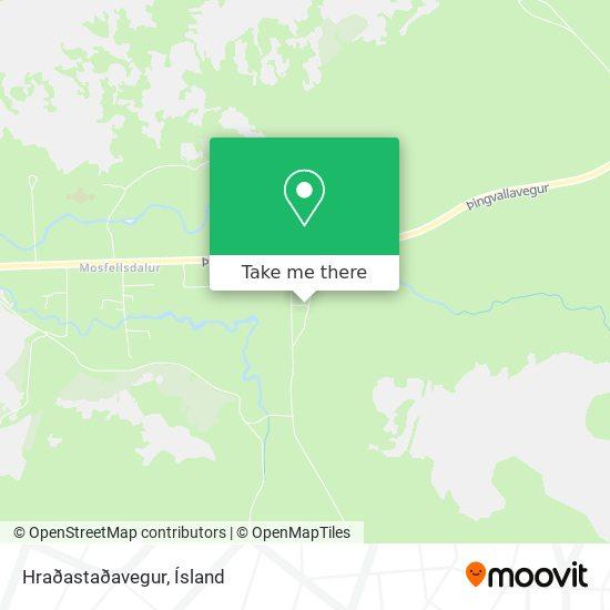Hraðastaðavegur map
