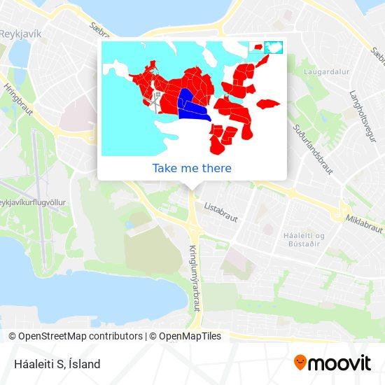 Háaleiti S map