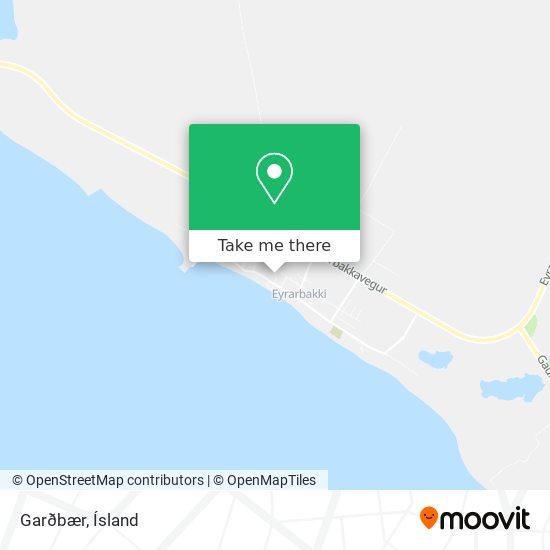 Garðbær map