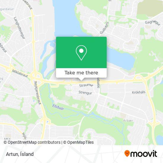 Artun map