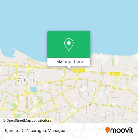 Ejercito De Nicaragua map