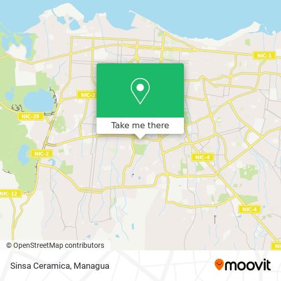 Sinsa Ceramica map