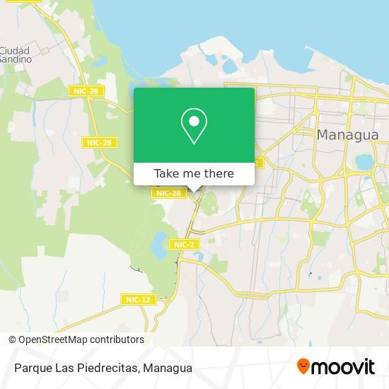 Parque Las Piedrecitas map