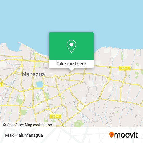 Maxi Palí map