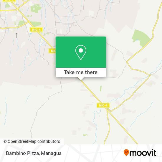 Bambino Pizza map