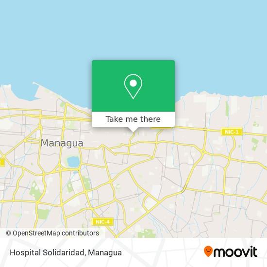 Hospital Solidaridad map