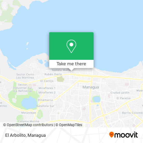 El Arbolito map